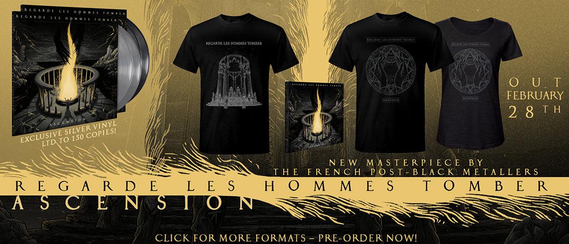 Regarde Les Hommes Tomber new album Ascension pre-order