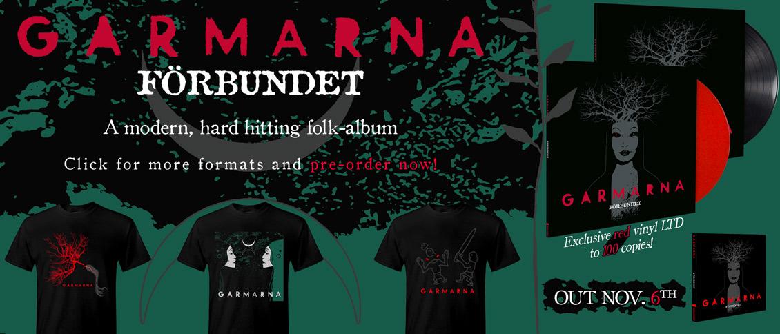 Garmarna - Forbundet new album pre-order