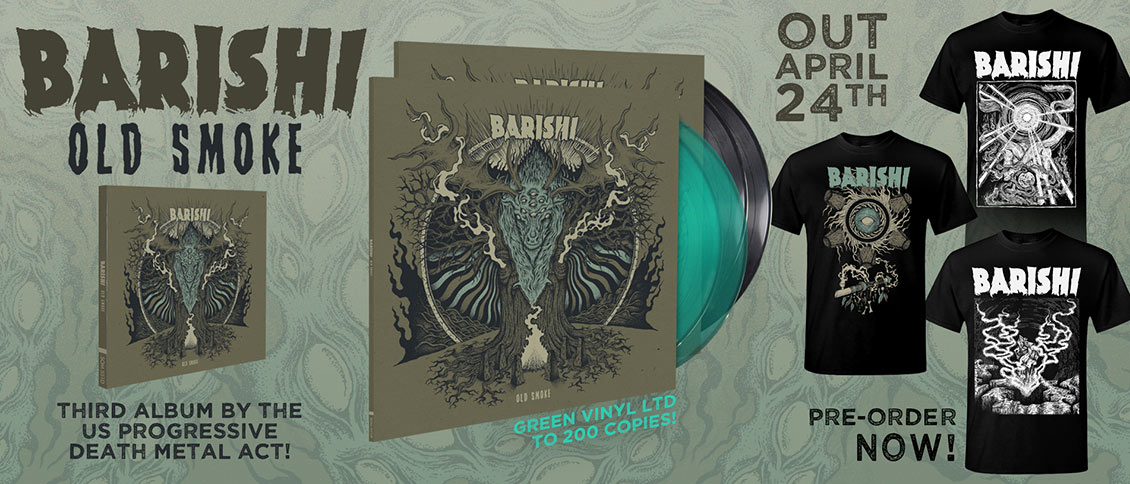 Barishi Old Smoke new album Ascension pre-order