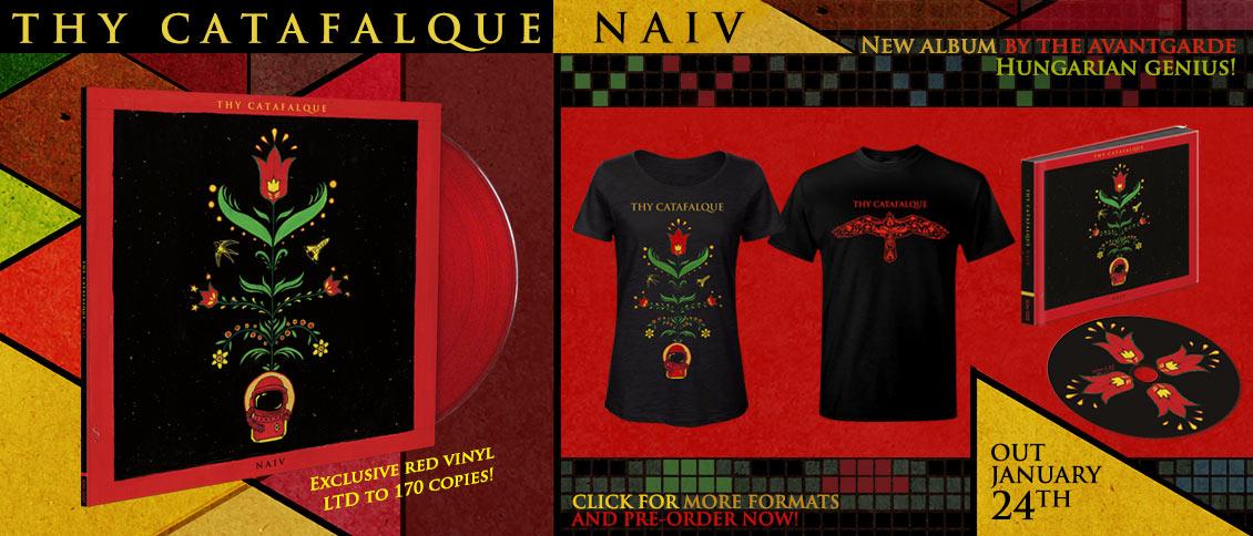 Thy Catafalque Naiv new album pre-order