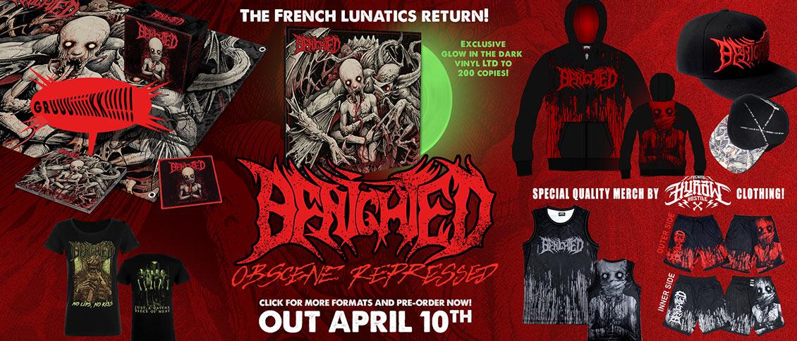Benighted Obscene Repressed new album pre-order