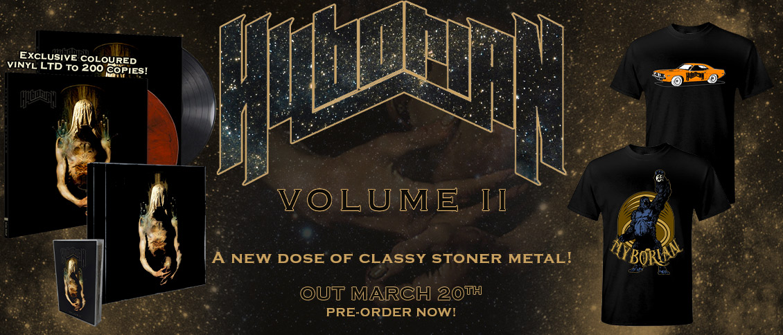 Hyborian Volume II new album pre-order
