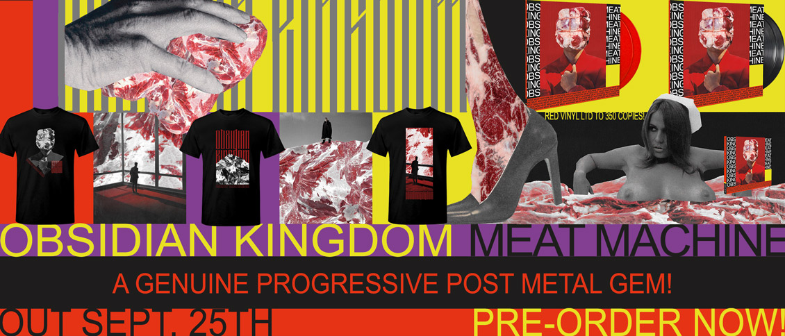Obsidian Kingdom new album Meat Machine pre-order