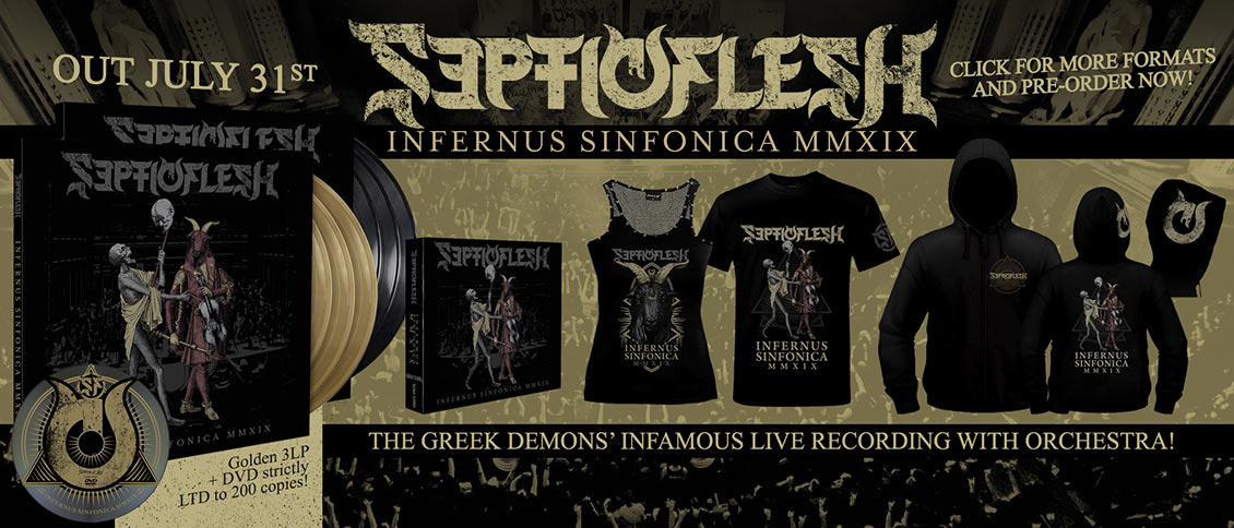 Septicflesh Infernus Sinfonica MMXIX pre-order