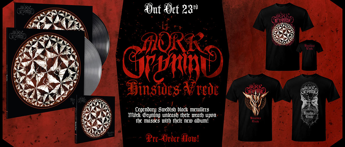 Mörk Gryning - Hinsides Vrede new album pre-order