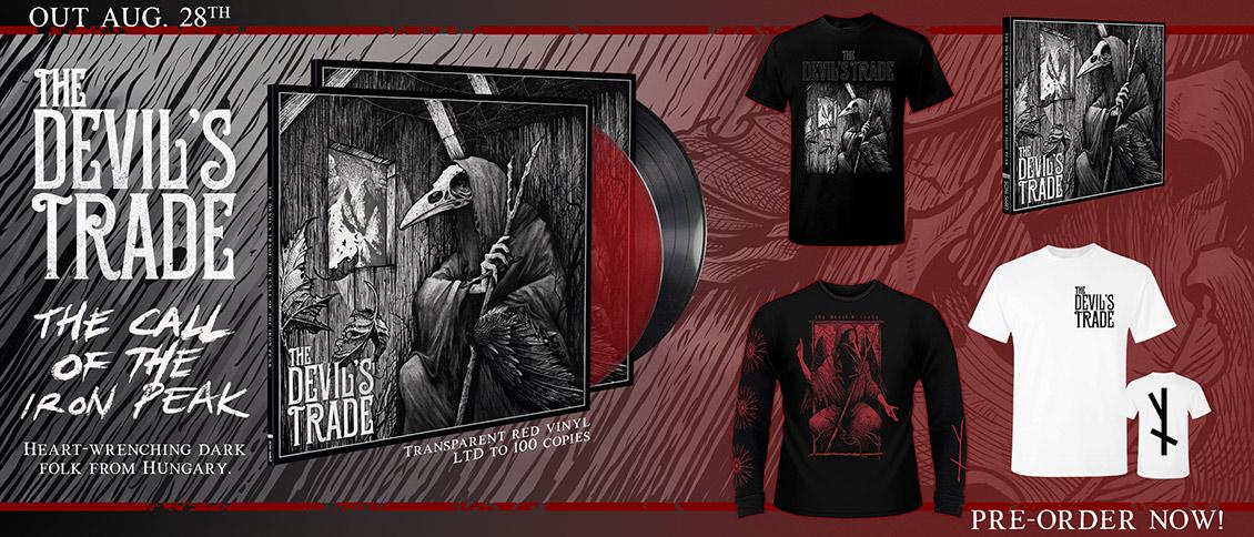 The Devil's Trade The Call of the Iron Peak new album pre-order