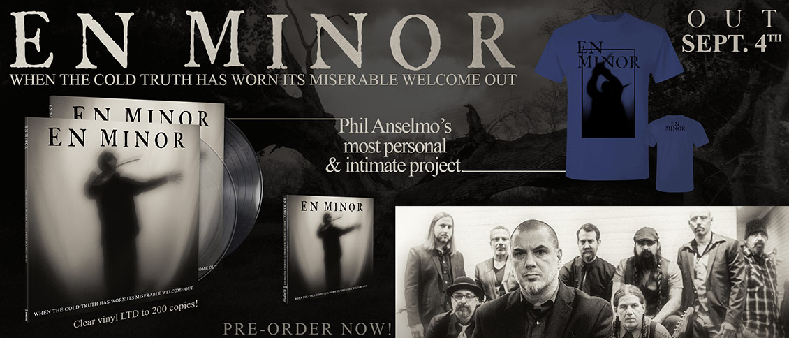 En Minor When The Cold Truth Has Worn Its Miserable Welcome Out pre-order