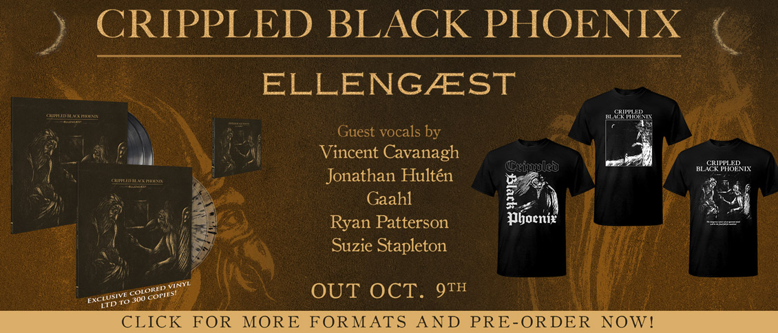 Crippled Black Phoenix - Ellegaest new album pre-order