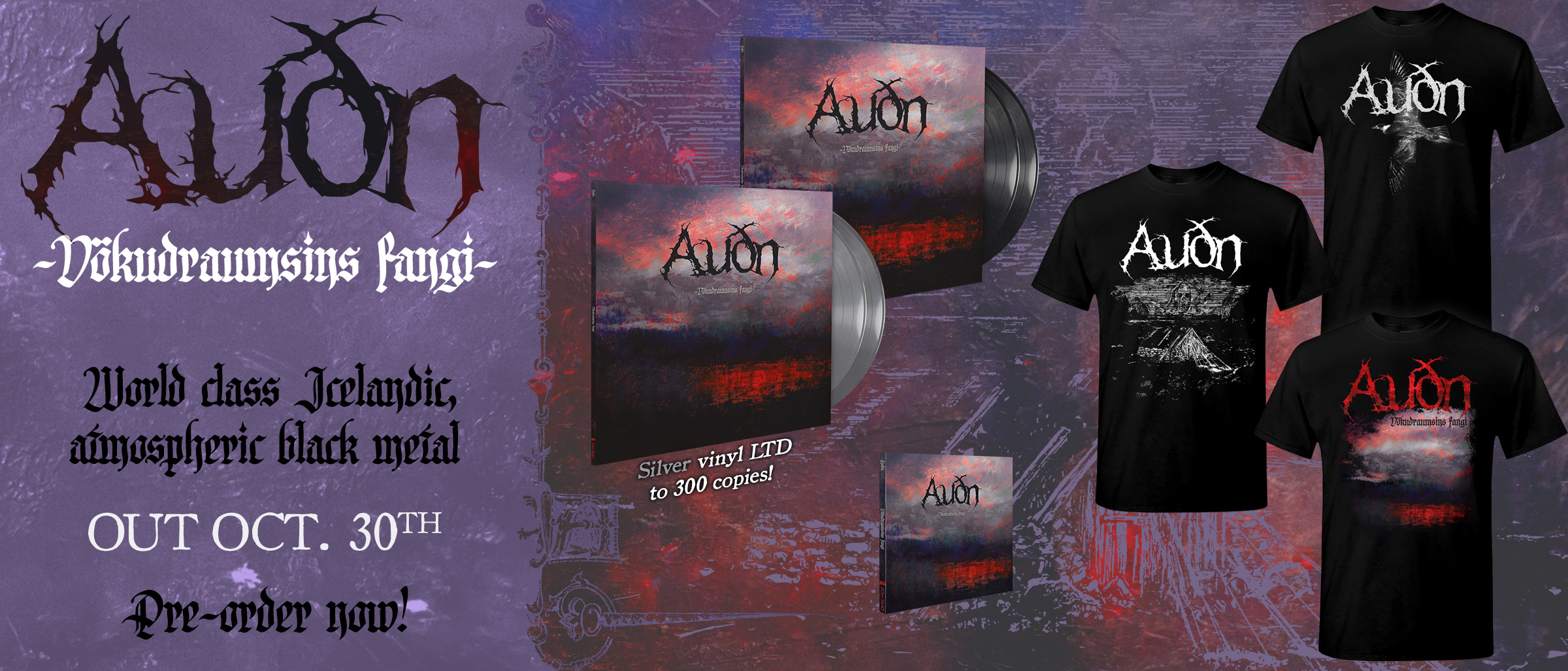 Audn - Vökudraumsins Fangi new album pre-order