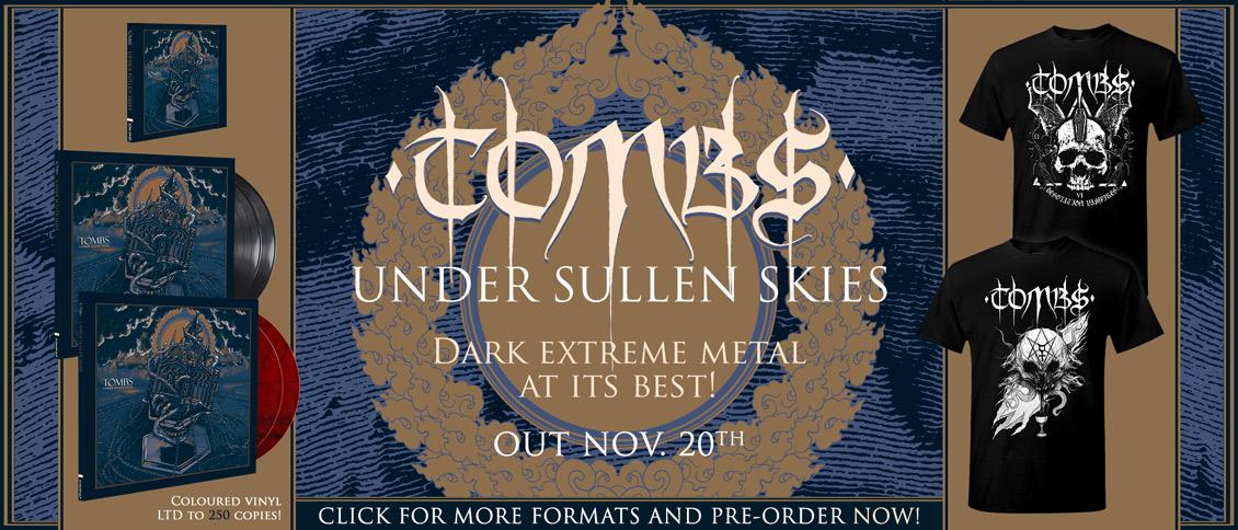 Tombs Under Sullen Skies new album pre-order