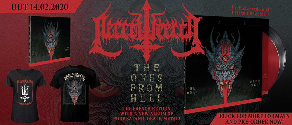 Necrowretch The Ones From Hell new album pre-order
